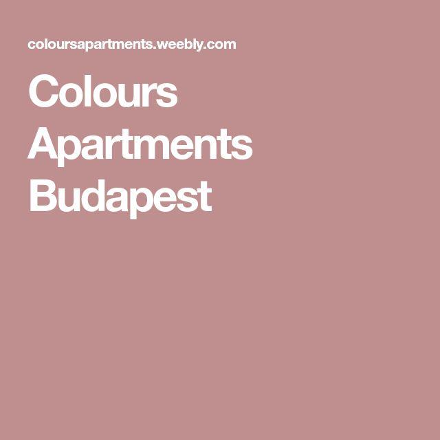 Colours Apartments Budapest