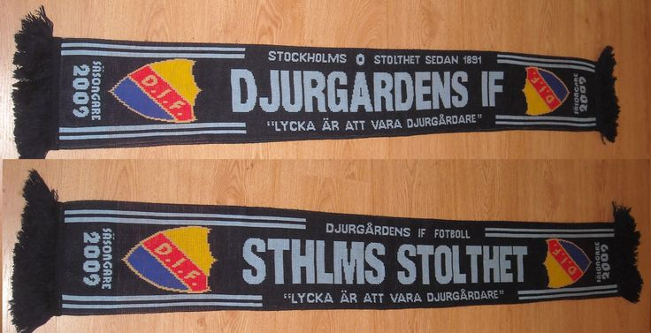 Djurgårdens IF Scarf You can Buy It from www.ScarvesForSale.eu