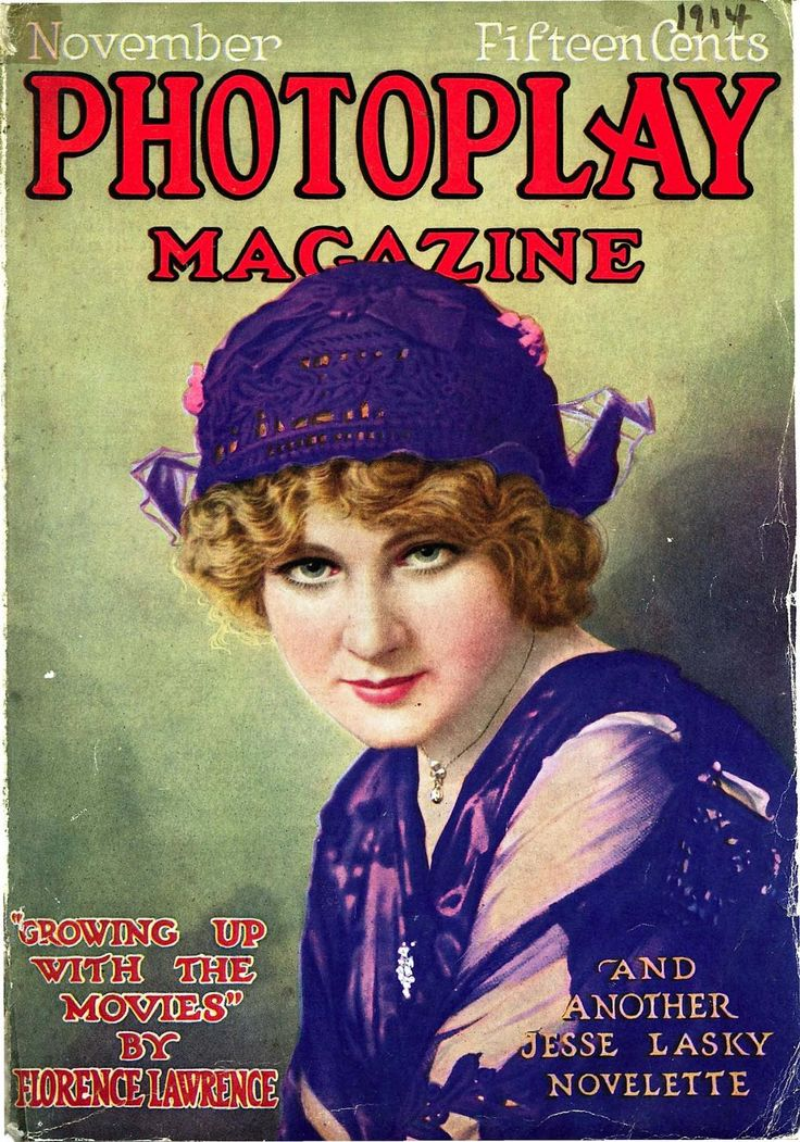 Florence Lawrence |.| Photoplay (11.1914)