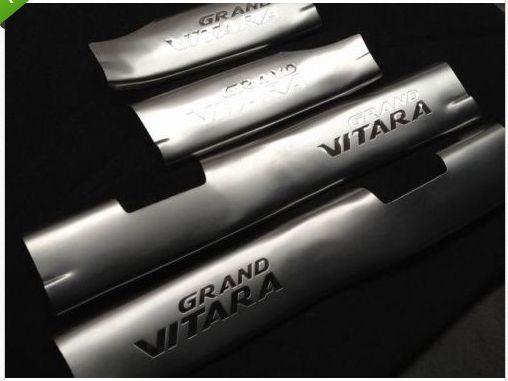 Door Sill Scuff Plates for Suzuki Grand Vitara 5Door 2006-2011 4pcs