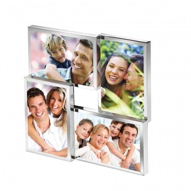 Cupecoy Multi Collage Frame (Silver)
