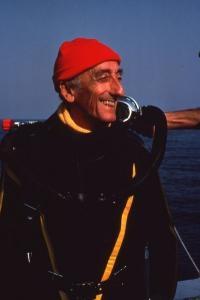 Jacques-Yves Cousteau, el más famoso oceanógrafo y explorador de los fondos marinos
