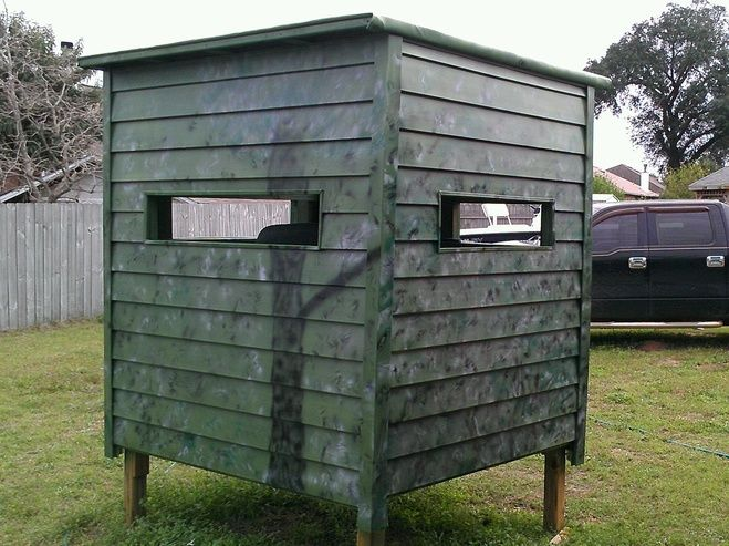 Nice Shooting House Shooting House Deer Hunting Blinds Hunting Stands