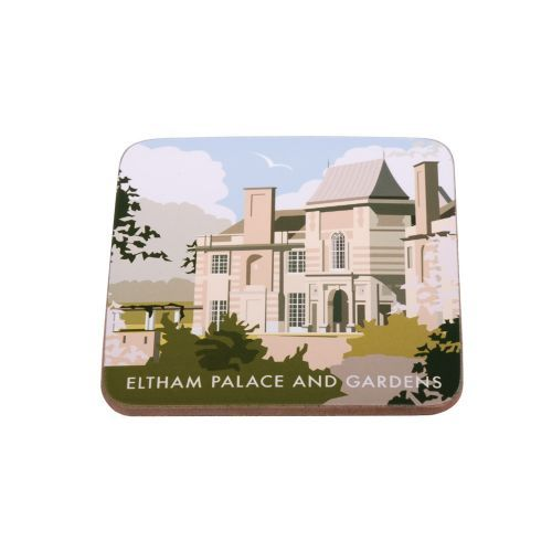 Eltham Palace Coaster from Star Editions. Buy from the online gift shop at English Heritage.