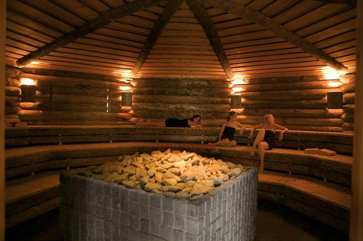 Finse Kelo sauna bij Wellnessresort Elysium, Bleiswijk, the Netherlands