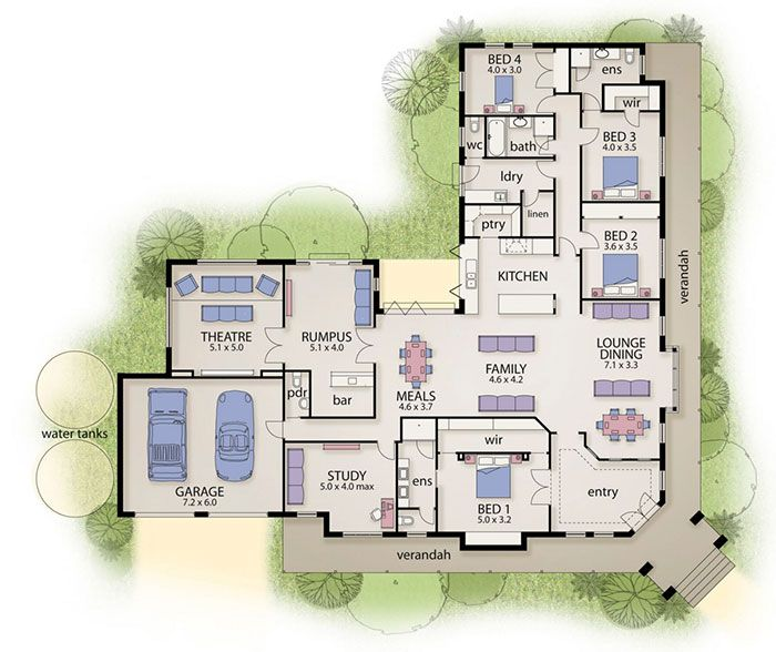 The Ashbourne Home Designs - Busby Homes