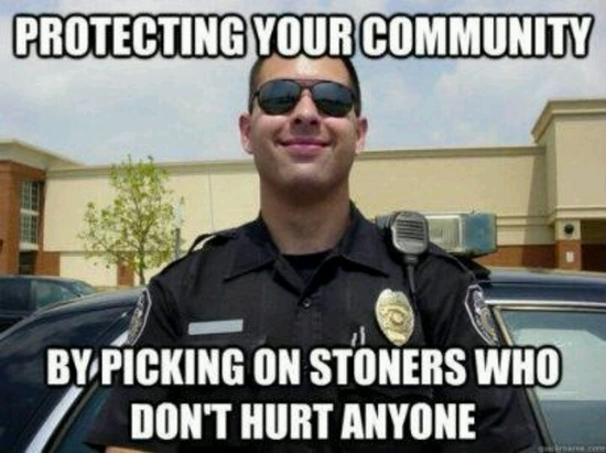 """Mean While; Rape, Murder, Child Molestation, Assault, Robbery, B, Battery, Speeding, Theft, Child Abuse, Spousal Abuse, Strong Arm Robbery, Just To Mention A Few. BOY I Bet He Is PROUD OF THAT BUST, While Bragging At The Doughnut Shop!! WHY? What Was The Stoner Doing, """"Thinking""""?"""