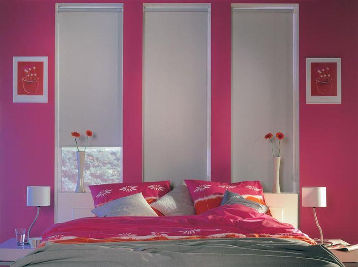 Cortinas Roller Blackout - Oscurecimiento de Ambientes [bedroom blinds curtains windows covering decoración ventanas habitación]