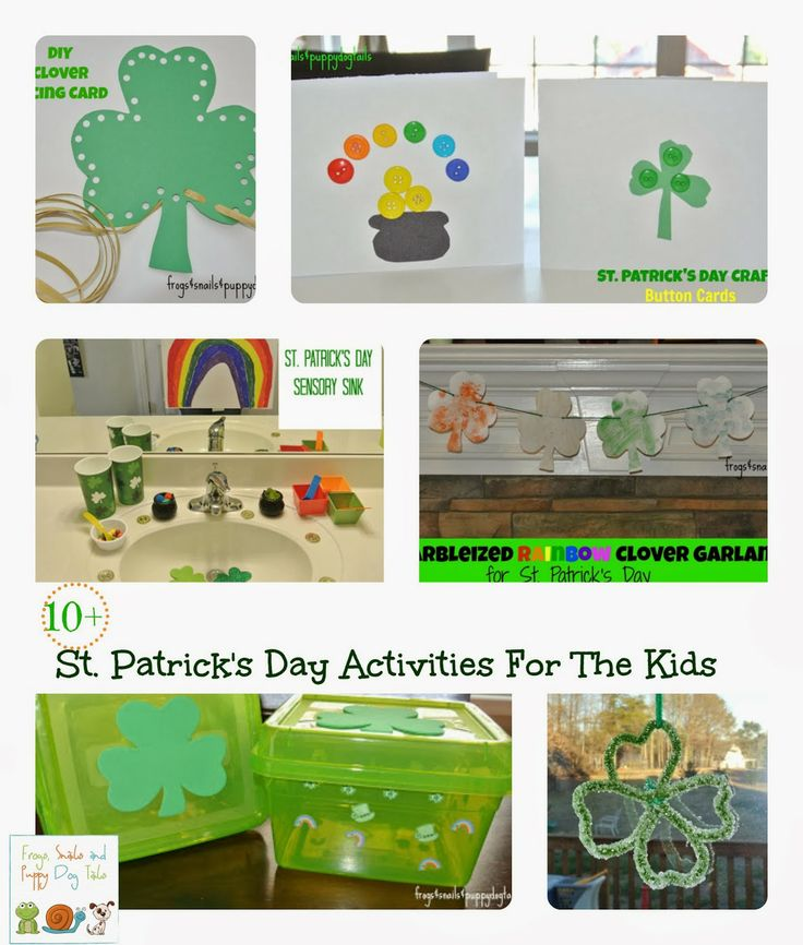 10+ St. Patrick's Day Themed Kids Activities {we enjoyed as a family} by FSPDT ~ kid crafts ~ irish recipe ~ family traditions ~science experiments and more