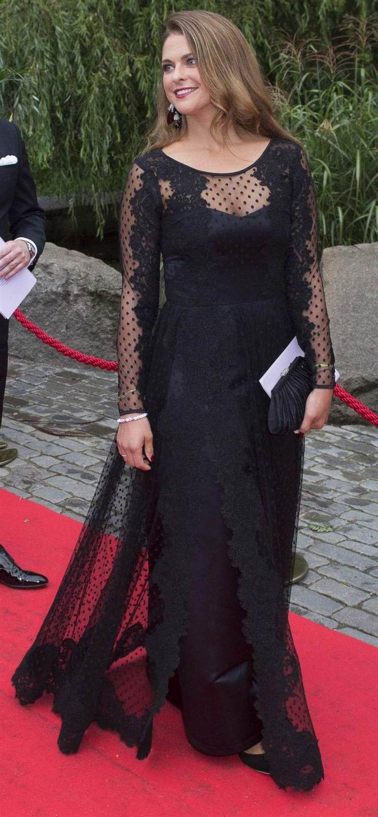 Princess Madeleine of Sweden attended the World Childhood Foundation banquet 9/8/14