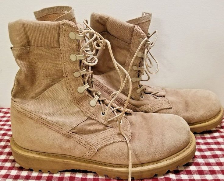 Rocky Men's Boot Military Hot Weather army combat boot work outdoor Size 10.5 R #ROCKY #Military