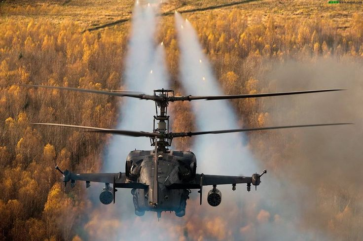 Kamov Ka-50 sending a message