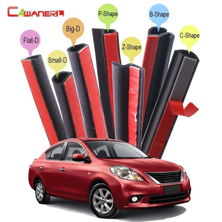 81.69$  Watch now - http://alip7t.shopchina.info/1/go.php?t=32791694837 - Cawanerl For Nissan Almera Tino Cube Juke Qashqai Car Seal Sealing Strip Kit Rubber Seal Edge Trim Weatherstrip Sound Control  #magazineonlinewebsite