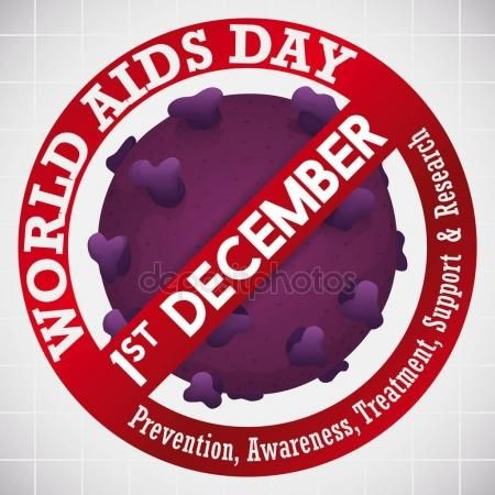 Banning Signal over HIV Virus for World AIDS Day Celebration