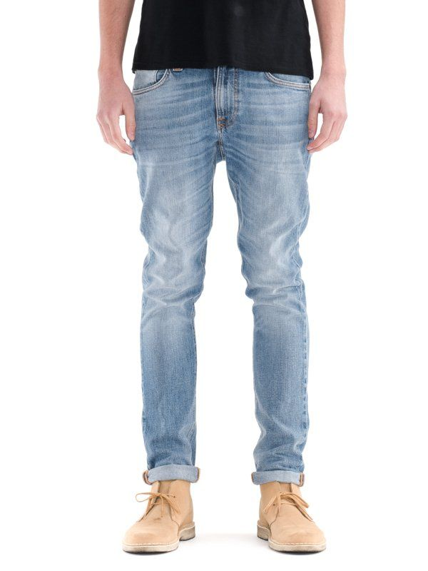 NudieJeans  Lean Dean Brine Water - Nudie Jeans  Organic and recycling, reselling and reparing! Social responsible and caring for the environment