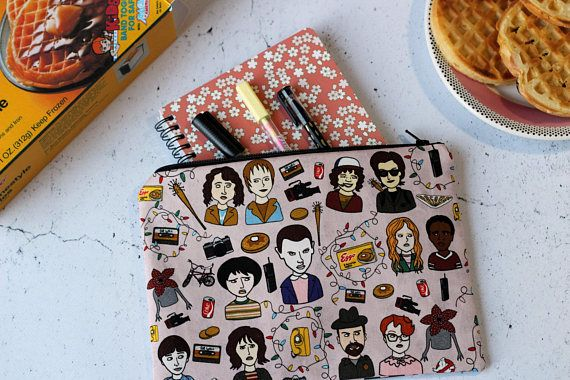Stranger Things purse Zipper pouch Astuccio Stranger