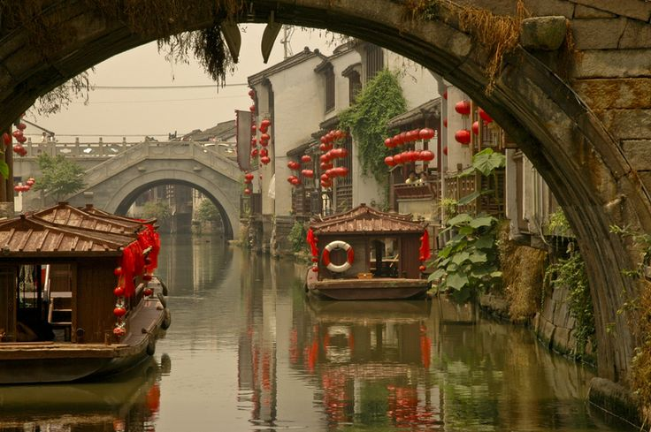 Suzhou, a city of 6 million people 90 minutes west of Shanghai.