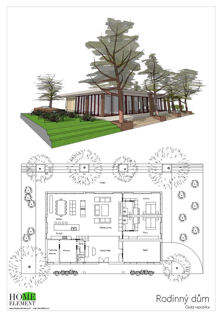 Rodinný dům Forest 1