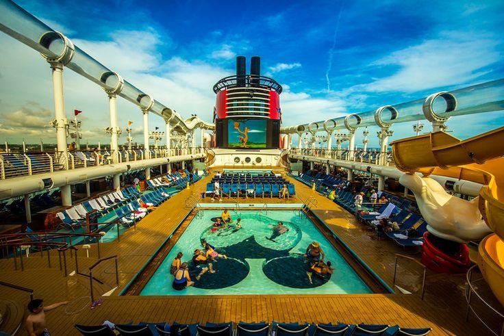 Mickey Pool On The Disney Dream