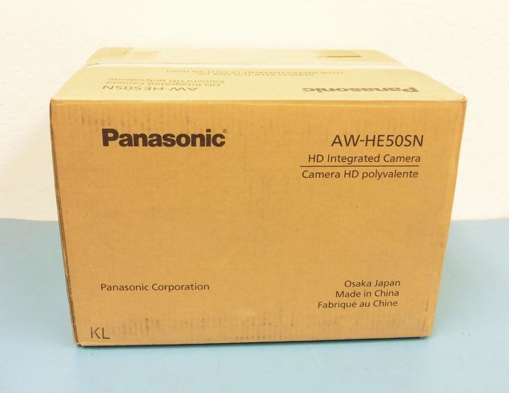 (New) Panasonic AW-HE50SN HD Integrated PTZ Camera (In Opened Box)