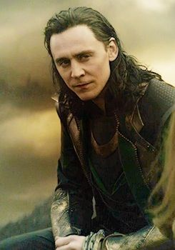 The Most Stylish Villains In History. | He may not have many outfit changes throughout the movie but there's no denying that Loki's costume is badass. His head-to-toe leather ensemble which includes pants, a tunic and a heavily shoulder-padded floor-length coat, has a distressed look about it that seems fitting for someone who has ventured to the far reaches of the universe and back (or stepped off a Rick Owen's catwalk).