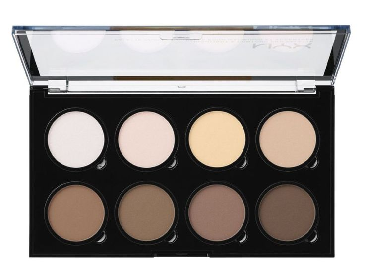 NYX Highlight and Contour Palette Face Makeup Pro Kit Pressed Powder Refill Best #NYX