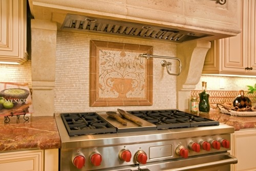 Pasta ArmHome, Mediterranean Decor, Mediterranean Backsplash, Dreams Kitchens, Backsplash Design, Pasta Arm