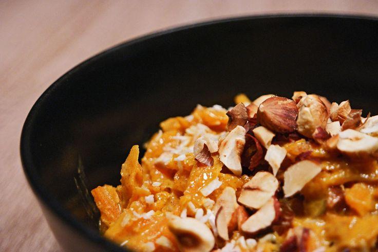 Gajar Halwa – Indische Kokos-Karotten mit Nüssen – inthemood4food