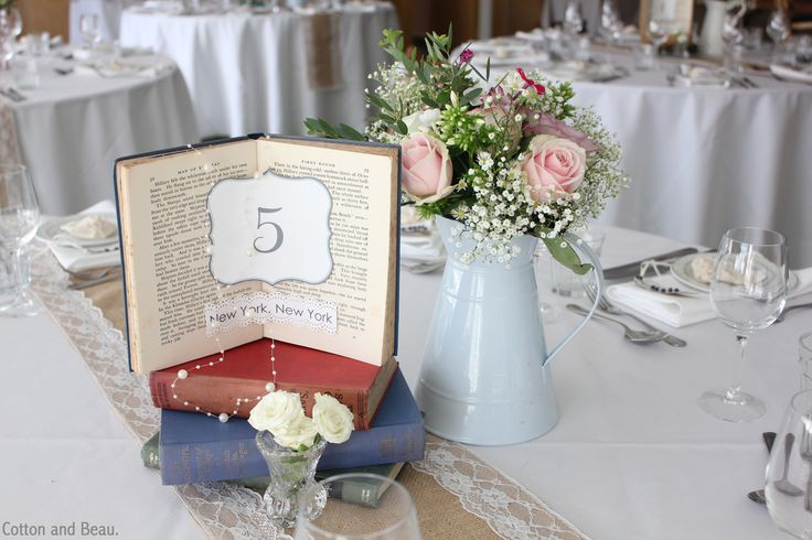 Vintage/Rustic Wedding Table Styled by Cotton and Beau. Creative Wedding Styling.