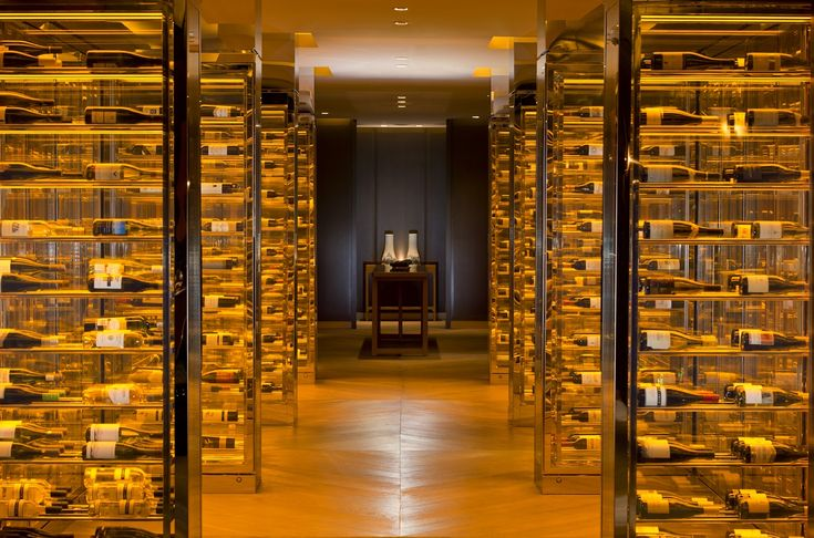 The Wine Cellar At The Waldorf Astoria Beijing is all excess!