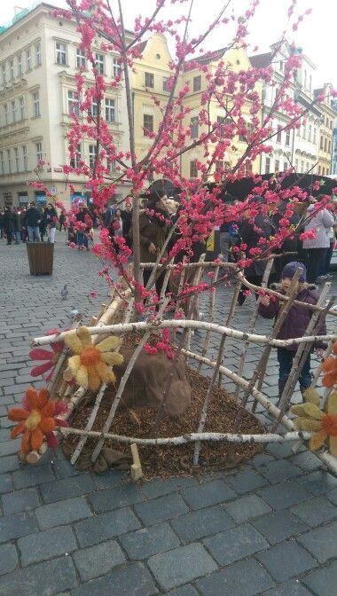 Easter market at Staromestske namesti
