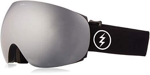 NEW ELECTRIC EG2 GOGGLES Gloss White//Bronze-Silver Chrome Mirror Lens Ski Snow