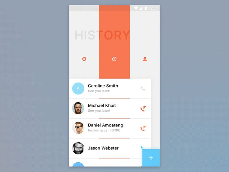 Android UI by Cuberto