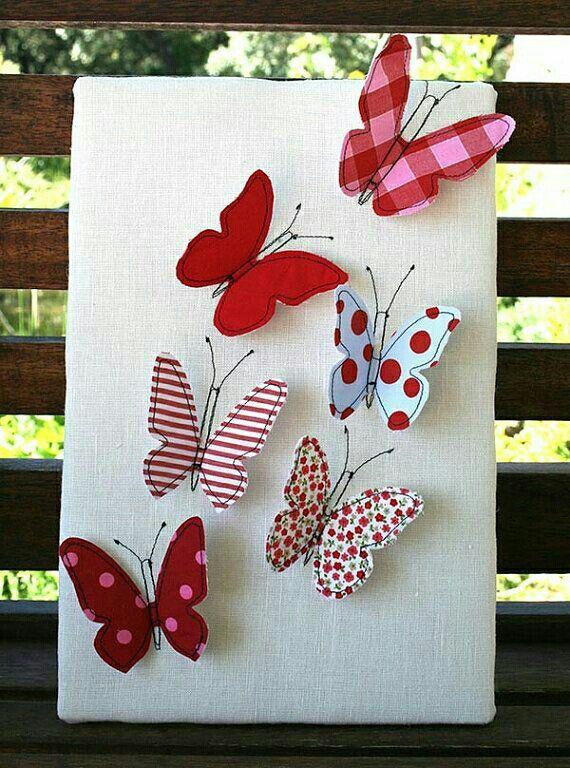 Mariposas artesan as pinterest butterfly butterfly for Mariposas de decoracion para pared