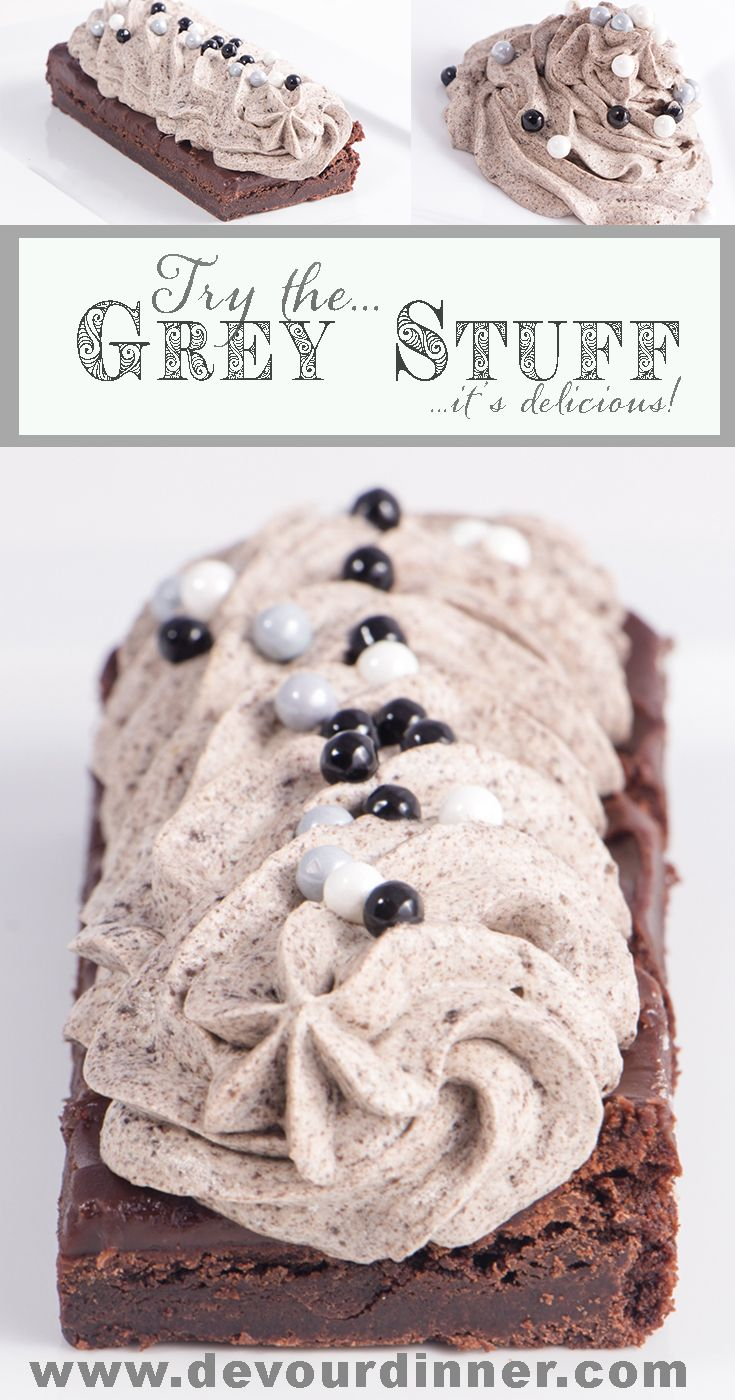 Grey Stuff Copycat Recipe Be Our Guest - Devour Dinner. Disney World Be Our Guest Restaurant Copycat Recipe The Grey Stuff. It's delicious, don't believe me? Ask the Dishes! #CopycatRecipe #GreyStuff #dessert #DevourDinner #Recipe #recipes #Food #foodie #Foodblogger #Buzzfeast #GreyStuffCopycat #BeOurGuest #BeautyandtheBeast