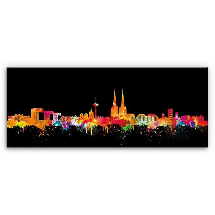 Köln - Cologne - Skyline - Neon