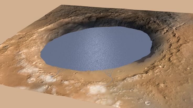 Gale Crater, the landing site of the Mars Curiosity rover, has long been hypothesized to have once held a large standing body of water. In a teleconference this afternoon, NASA announced new scientific findings which support that claim and also suggest that the lake existed for millions of years — potentially long enough for life to have formed.