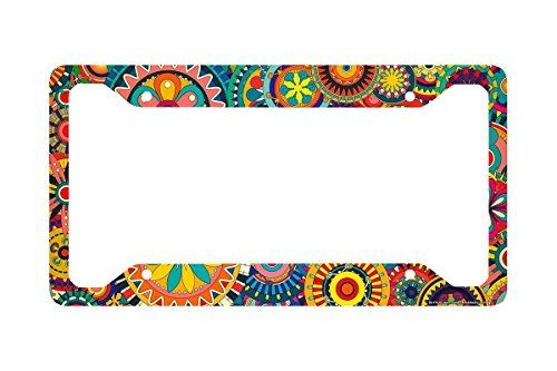 Airstrike® Retro Flower License Plate Frame, Floral Patte... https://www.amazon.com/dp/B01C6DZGI4/ref=cm_sw_r_pi_dp_5.6Ixb8DZA8C4