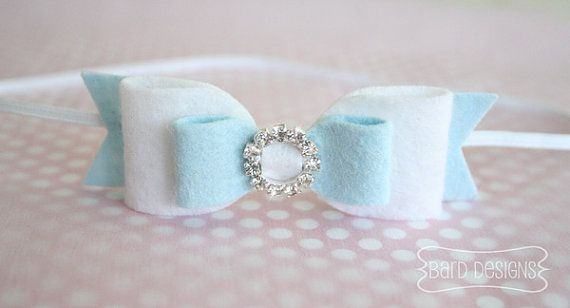 NEW Wool Felt Bow Headband Inspired by Disney by BardDesigns, $7.00