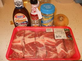 Melt in your Mouth Crock Pot Ribs