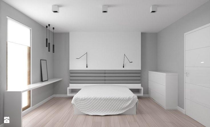Wystrój wnętrz - Sypialnia - styl Minimalistyczny. Projekty i aranżacje najlepszych designerów. Prawdziwe inspiracje dla każdego, dla kogo liczy się dobry gust i nieprzeciętne rozwiązania w nowoczesnym projektowaniu i dekorowaniu wnętrz. Obejrzyj zdjęcia!