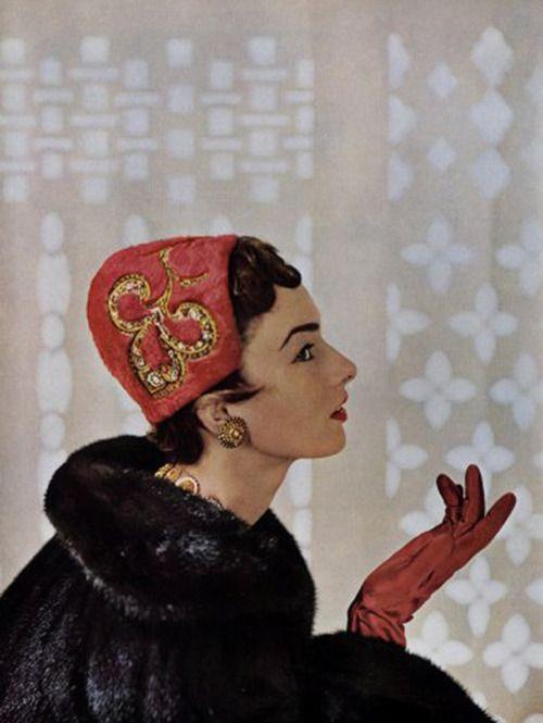 Gilbert Orcel, milliner, 1953.