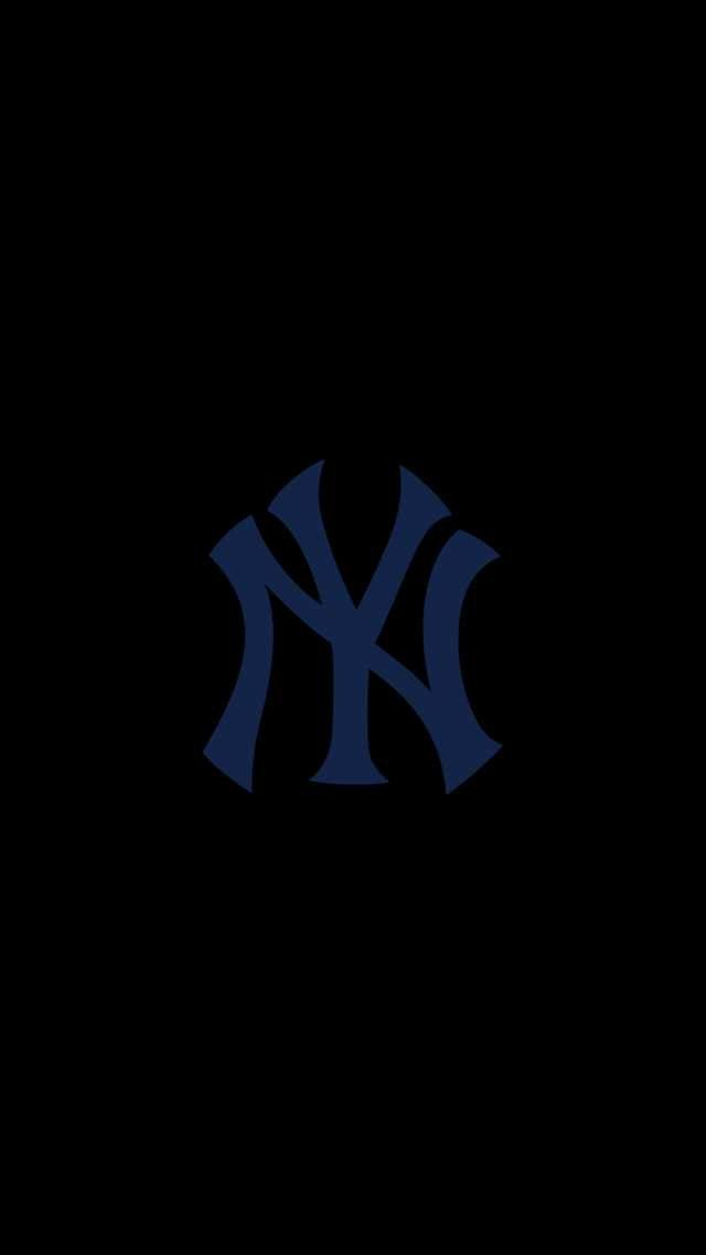 Can Someone Make A 2 960 X 1 440 Oled Image Of This But The White Yankees Ny Logo Smart Phone Wallp Jordan Logo Wallpaper Phone Wallpaper Baseball Wallpaper