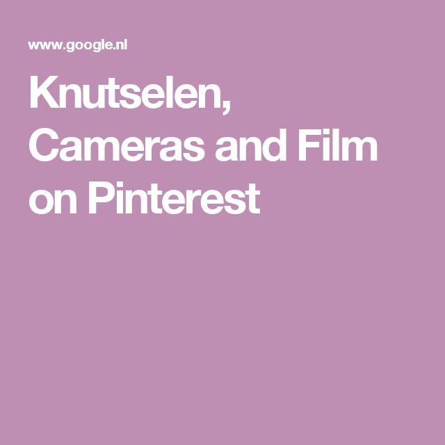 Knutselen, Cameras and Film on Pinterest