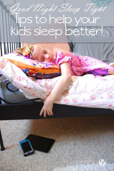 If the kids sleep, you sleep. Are your kids getting enough sleep and ways to help your kids get more.