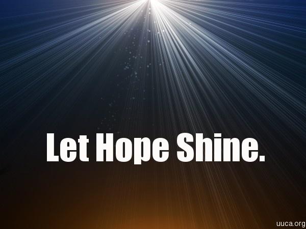 Let hope shine.