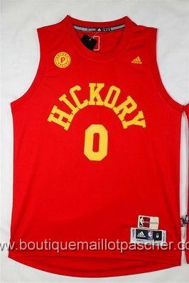 maillot nba pas cher Indiana Pacers Miles #0 rouge nouveaux tissu 22,99€