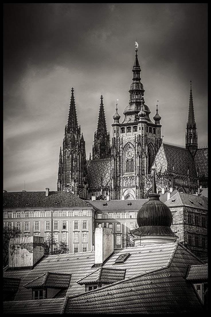 Prague Castle by Václav Verner on 500px