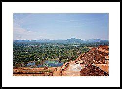 Sight to horizon by Svetlana Yelkovan  View from the top of Sigiriya rock #SvetlanaYelkovanFineArtPhotography #SriLanka #ArtForHome #FineArtPrints #Landscape #SigiriyaRock