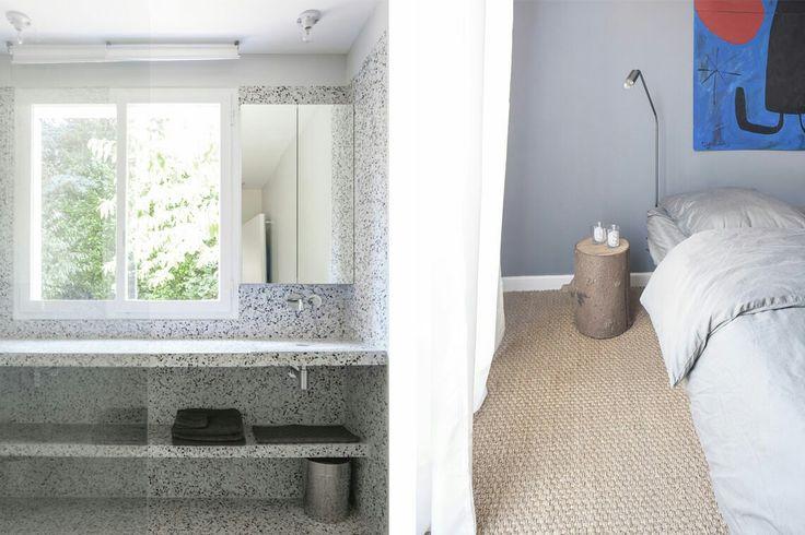 salle de bain en dalles de terrazzo 92.02